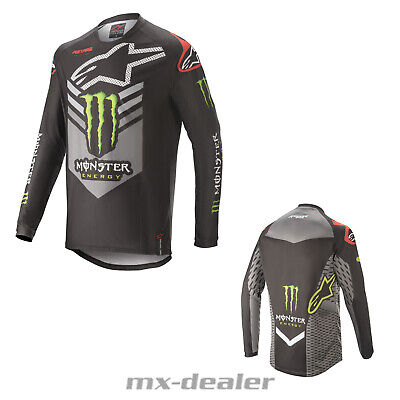 2020 Alpinestars Ammo Monster Energy limitiert MX Motocross Cross Jersey MTB BMX