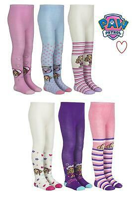 Childrens Girls Paw Patrol Winter Character Tights