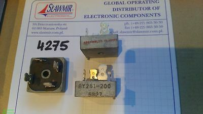 Philips BY261-200 25A200 Single Phase Glass Passivated Bridge Rectifiers Lot2pcs