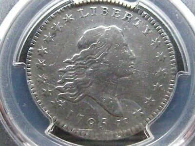1795 Flowing Hair Half  Dollar /PCGS  Very Fine