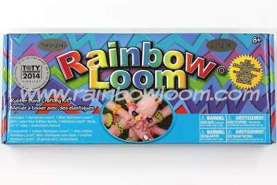 original rainbow loom bands kit set kids craft make  bracelets jewellery elastic