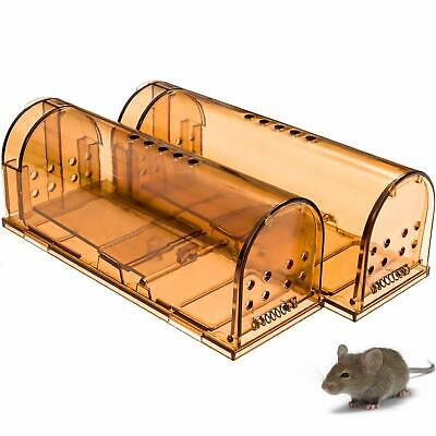 CaptSure Humane Smart Mouse Trap Live Catch and Release Rodent Trap Cage Box
