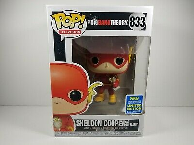 Funko Pop! The Big Bang Theory Sheldon Cooper as The Flash #833 SDCC 2019
