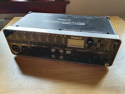 Roland Studio Capture 16x10 USB 2.0 audio interface with 12 mic preamps