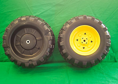 **NEW** Peg Perego Gator Front Wheel Set (2 Tires) New Style