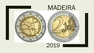 Portugal 2019 600. Madeira 2 € Unc-Serie