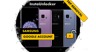 Premium Google Account Bypass Removal Reset Unlock FRP SAMSUNG Note 10, s10, 10