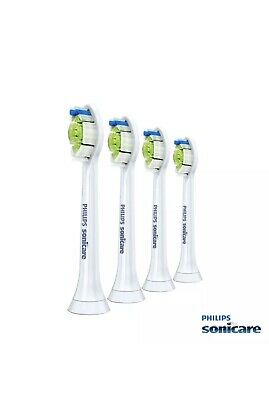 4x Philips Sonicare Diamond Clean Genuine Replacement Brush Heads.