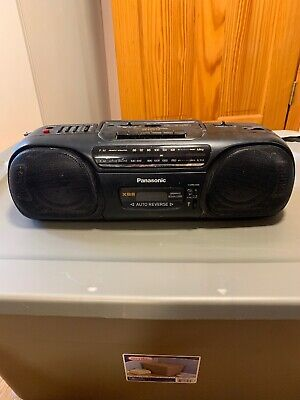 Pre Owned Vintage Panasonic Rx-FS470 Boombox WORKING