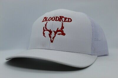 Red/ White/  Bloodred Hat