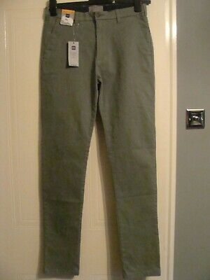 Marks & Spencer Sea Green Skinny Chinos Size W30 L33 BNWT RRP £19.50