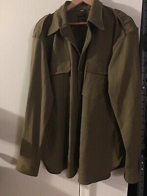 ww2 Reproduction Us Army Officer Wool Shirt Wpg