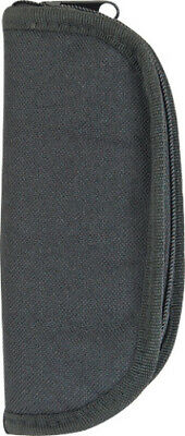 Carry All Knife Case Black heavy cordura construction with padded fleece lining.