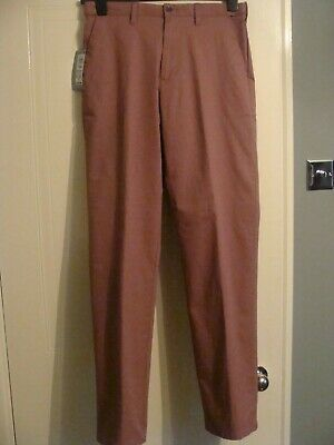 Marks & Spencer  Dark Pink Chinos Size W32 L33 BNWT RRP £19.50