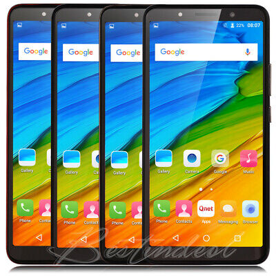 "6.0"" Cheap Cell phones Quad Core Unlocked Android 8.1 Smartphone AT&T Dual sim"
