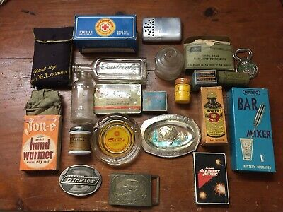 Junk Drawer Lot - Assorted Vintage Items