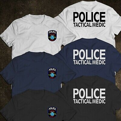 NEW York State Police Department Tactical Medic Special United States T-Shirt