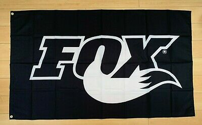 Fox Racing Shox 3x5 Ft Flag Banner Motorcross Off Road