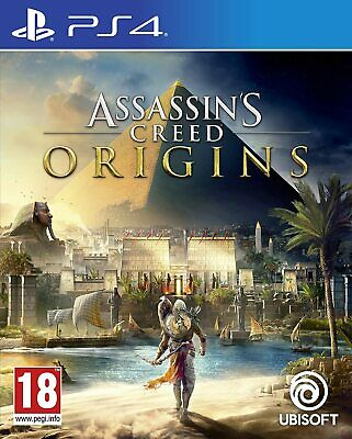 Assassin's Creed Origins - Playstation 4 (PS4) - Brand New Factory Sealed