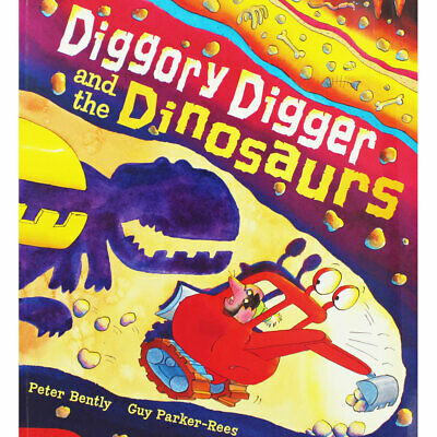 Diggory Digger and the Dinosaurs (Paperback), Children's Books, Brand New