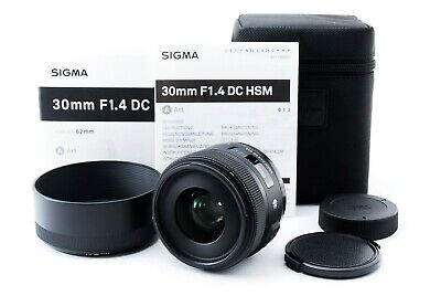 Sigma ART 30mm f/1.4 DC HSM Lens for nikon from Japan Free/S Excellent+++++