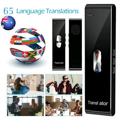 Smart Voice Translator Portable Two-Way Real Time 65Languages Translation T8S AU