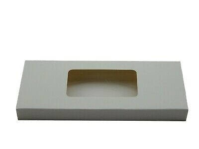 12x White Standard Tealight boxes (holds 10 tealights in each box)