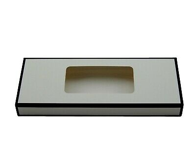 12x Black/White Standard Tealight boxes (holds 10 tealights in each box)