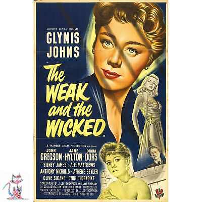 "Weak And Wicked Poster - 36""x24""   #13366"