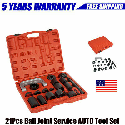 21PCS Ball Joint Service Tool Removal Puller Installation Combo Kit with Adapter