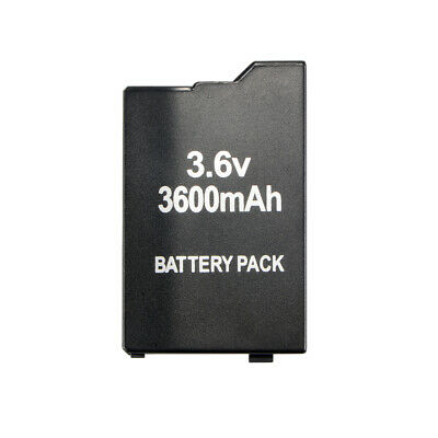 Rechargeable Recharging Lithium 3600mAh Battery Spare Pack For PSP 1000 AC1595