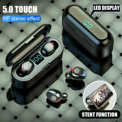 TWS Bluetooth 5.0 Earbuds Wireless Headphones Earphones For iphone Android