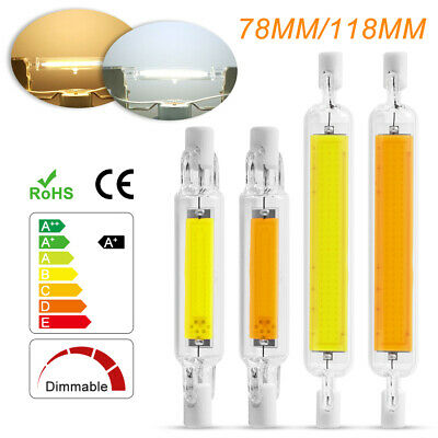 5W/10W 78mm 118mm R7S Ampoule LED COB Dimmable Lampe Remplacement Blanc Froid