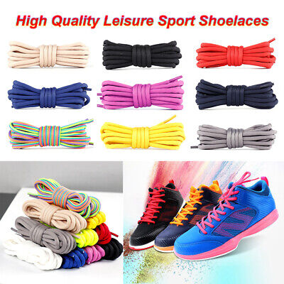 1 Pair Classic Round Athletic Shoelaces Sport Sneaker Hiking Boot Shoe Laces New