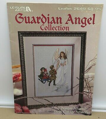 Leisure Arts Leaflet 2091 Guardian Angel Book 1 Cross-Stitch Chart