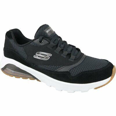 SKECHERS SKECH AIR EXTREME Damen Sneaker schwarz Air Cooled muhb4