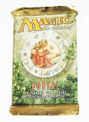 New Factory Sealed - Magic: The Gathering Portal Set Booster Pack 1997 MTG Cards