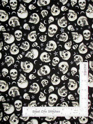Wedding Love Romance Words Black Cotton Fabric QT I Do Collection By The Yard
