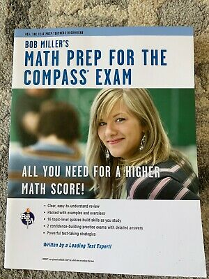 Compass Test Prep Book Math Book Cover Mathematics Mos Def