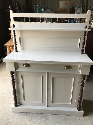 Antique Painted Sideboard