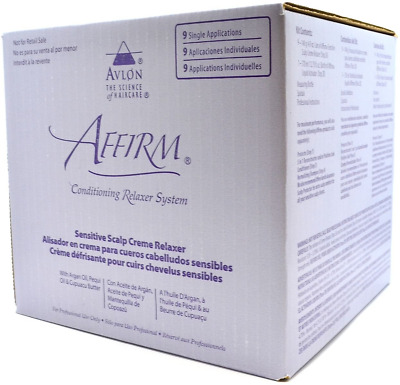 Avlon Affirm Conditioning Relaxer System 9 Single Applications