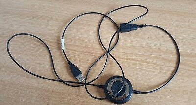 Justone GN-8180 USB adapter Link cable fits Jabra GN Netcom GN office headset