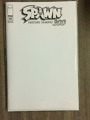 Spawn #300 Blank Variant NM