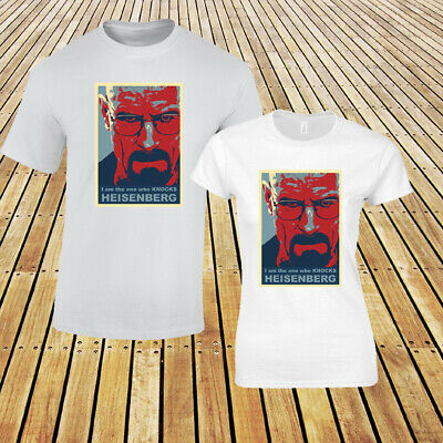 Breaking Bad I /'m the one who knocks Crime TV Iron on T-Shirt Transfert A5