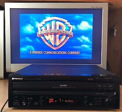 Pioneer Cld D502 Dual Side A/B Laserdisc Player / Cd Player | No Remote