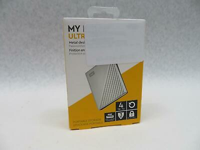 WD My Passport Ultra 4tb External USB 30 Portable Drive White