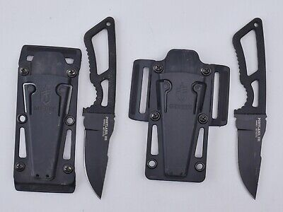 Gerber Ghost Strike Fixed Blade Knife With Sheath **READ**