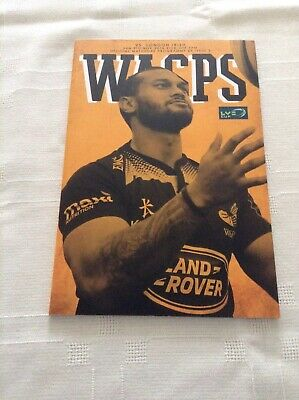 Rugby Union Match Wasps V London Irish In LV Cup 6th Nov 2014
