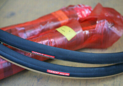 Vintage set NOS NEW Clement Speciale Corsa Type 14 tubular sew up tires 2