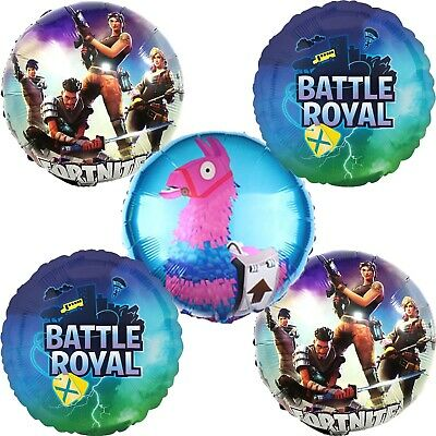 BATTLE ROYAL BALLOONS Bouquet Birthday Party Decoration